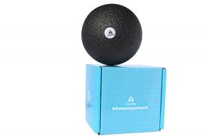 Faszienball Massageball 10cm inkl. Anleitung - Einzelball zur Gezielten Selbstmassage Verspannter Muskeln und Faszien