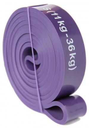 Widerstandsband Größe S (Widerstand 11kg ? 36kg) Farbe Violett Fitnessband zum Effektiven Krafttraining Resistance Band